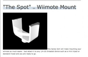 Wii-Mote stand